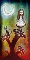 Alice and Cheshire