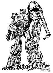 Constructicon Maximus Energon aka Devastator by JazzLuca