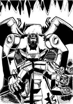 Transformers Batman 497 con Grimlock e Flywheels