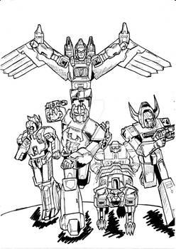 Transformers NewTeenTitans 1 con i Predacon G1
