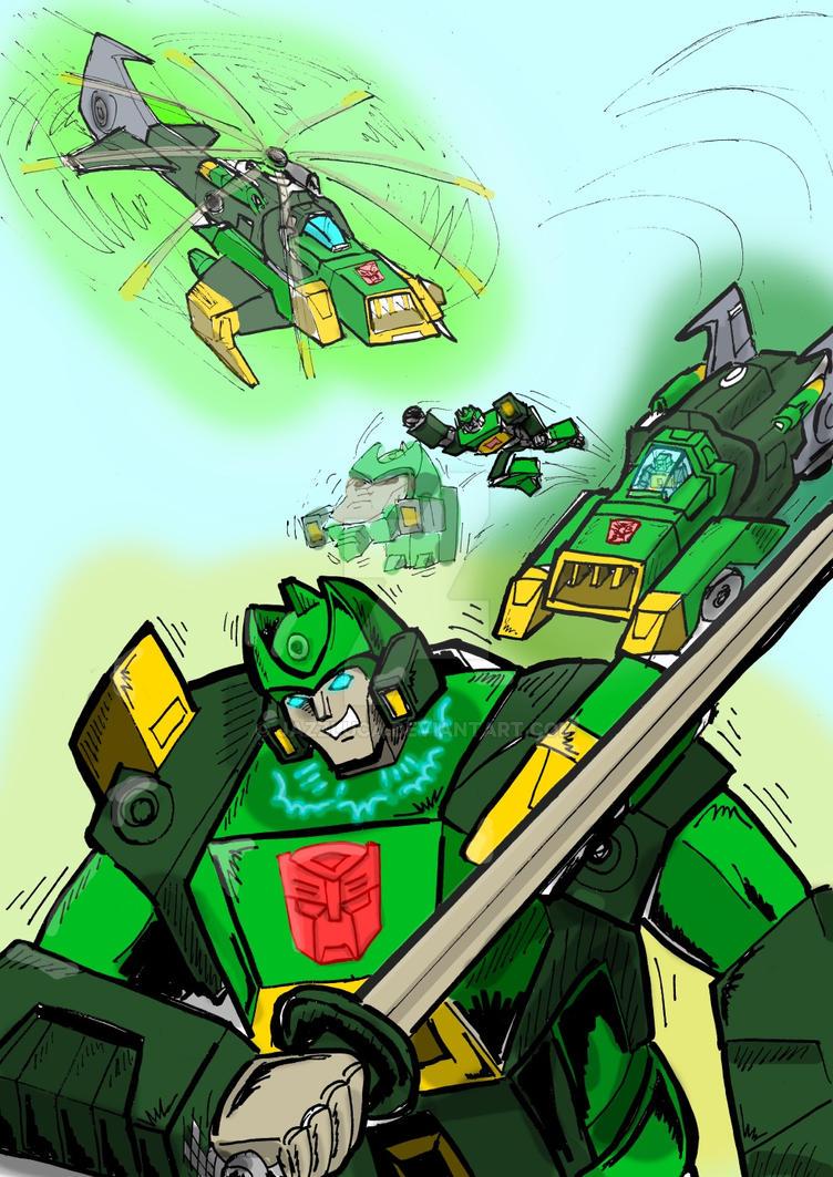 Springer Titans Return by JazzLuca