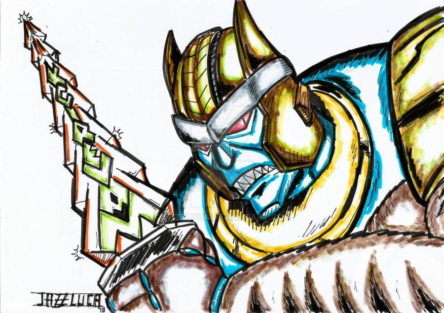 Dinobot Beast Wars for Maverick by JazzLuca