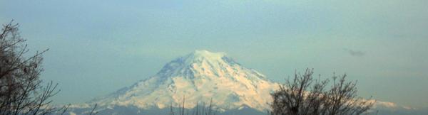 Mt. Raineer by oddbluepony