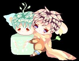 MeiMei and Hiyori~kun!! by Skixzer