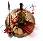 Spartan King Leonidas Portrait
