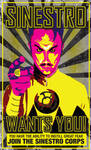 Sinestro Corps Poster