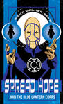 Blue Lantern Corps Poster