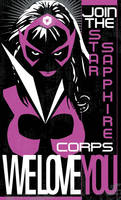Star Sapphire Corps Poster by Heartattackjack