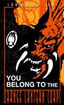 Orange Lantern Poster