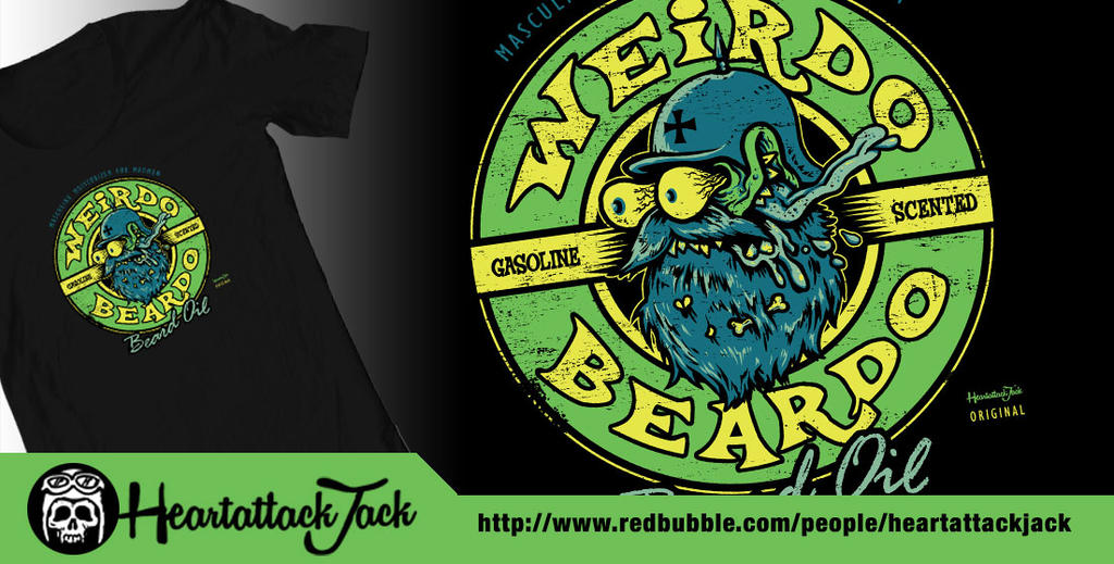 Weirdo Beardo - beard Oil by Heartattackjack