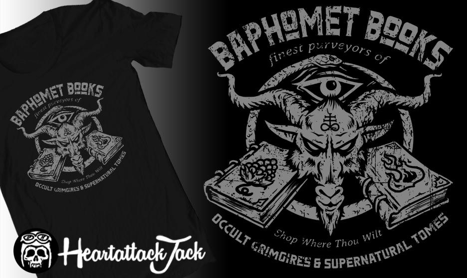 Baphomet Books by Heartattackjack