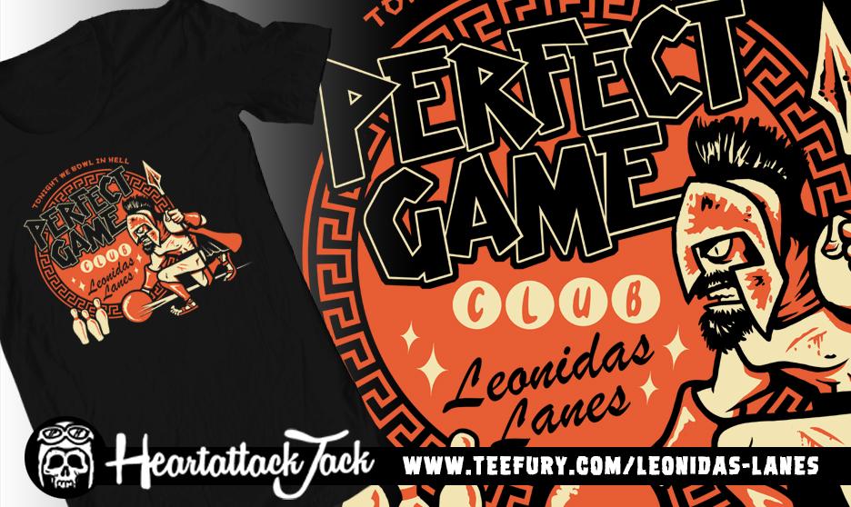 Perfect Game Bowling club Leonidas lanes by Heartattackjack