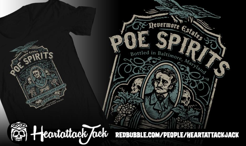 Poe Spirits by Heartattackjack