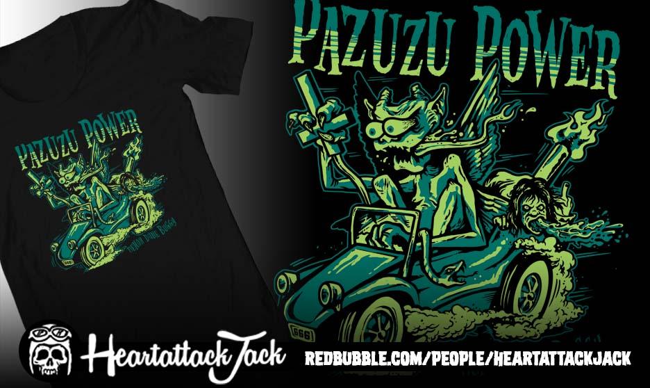 Pazuzu Power by Heartattackjack