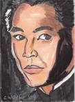 Jet Lee Sketch Card