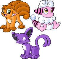 More Pokemon by eevee1