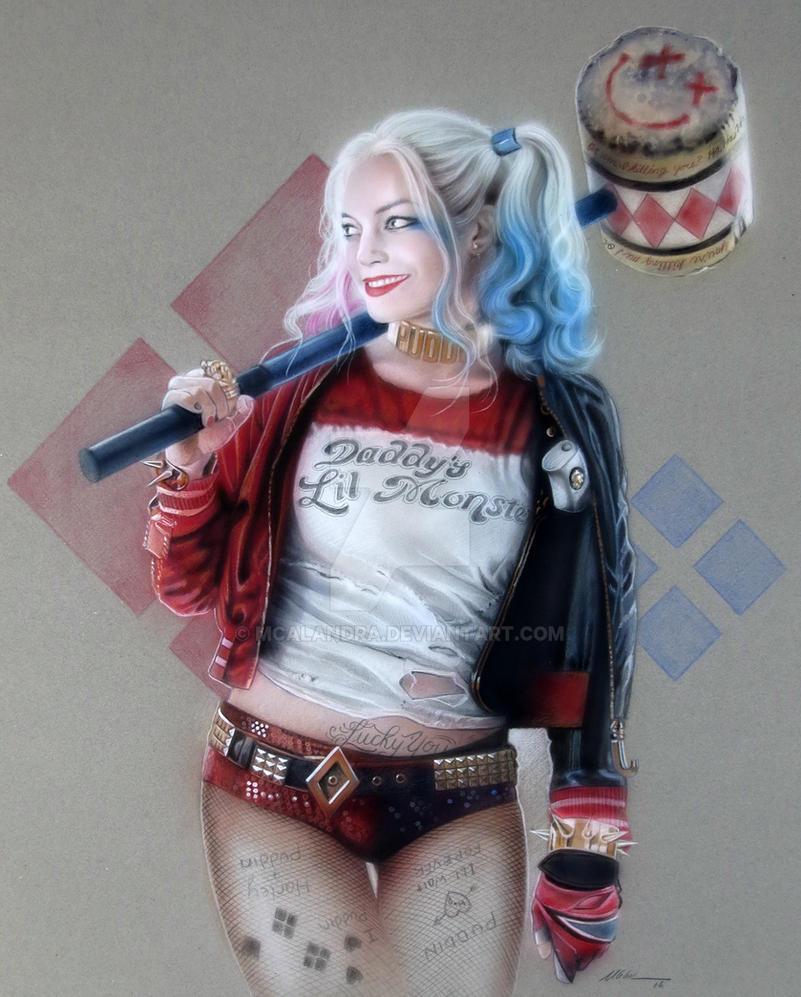 Harley Quinn by mcalandra