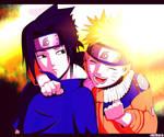 Naruto and Sasuke... Friends :)