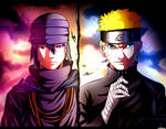 Naruto and Saske_The Last by suiken22