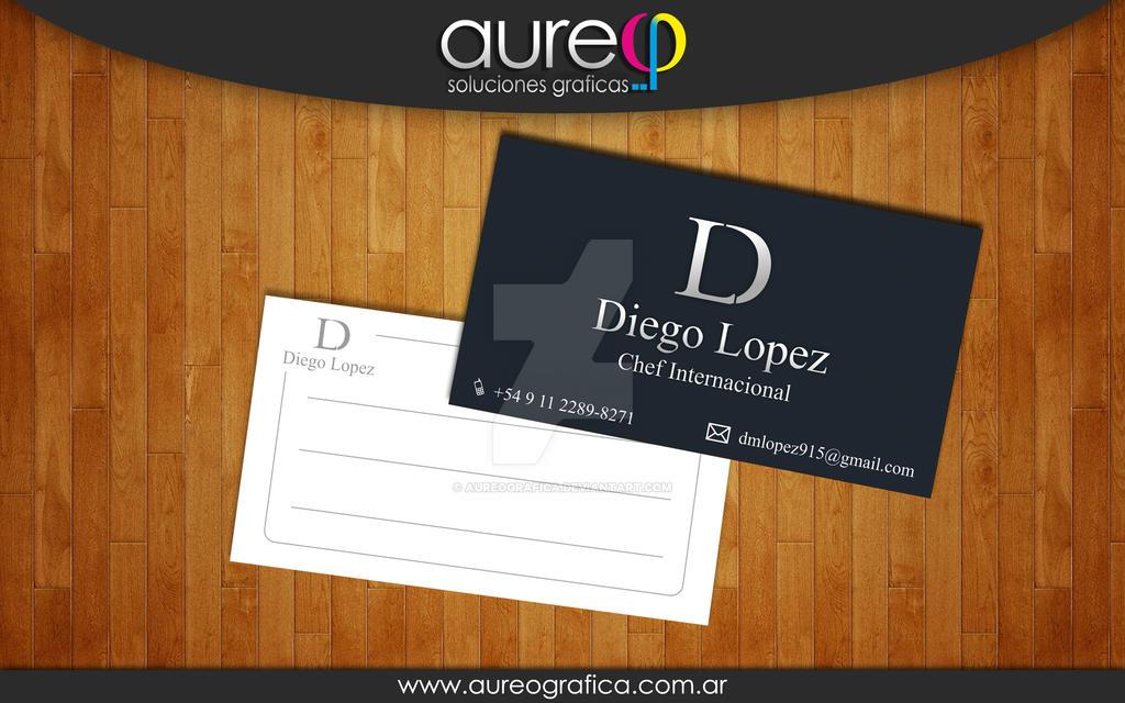 International Chef business Card by AureoGrafica on DeviantArt