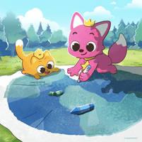 Pinkfong has a pet confirmed?!