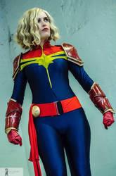 Captain Marvel Cosplay by Telf-Aurora