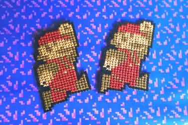 Super Mario NES sprite patches by BlueStarbie-Arts