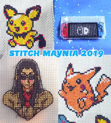 Stitch Maynia 2019 by BlueStarbie-Arts