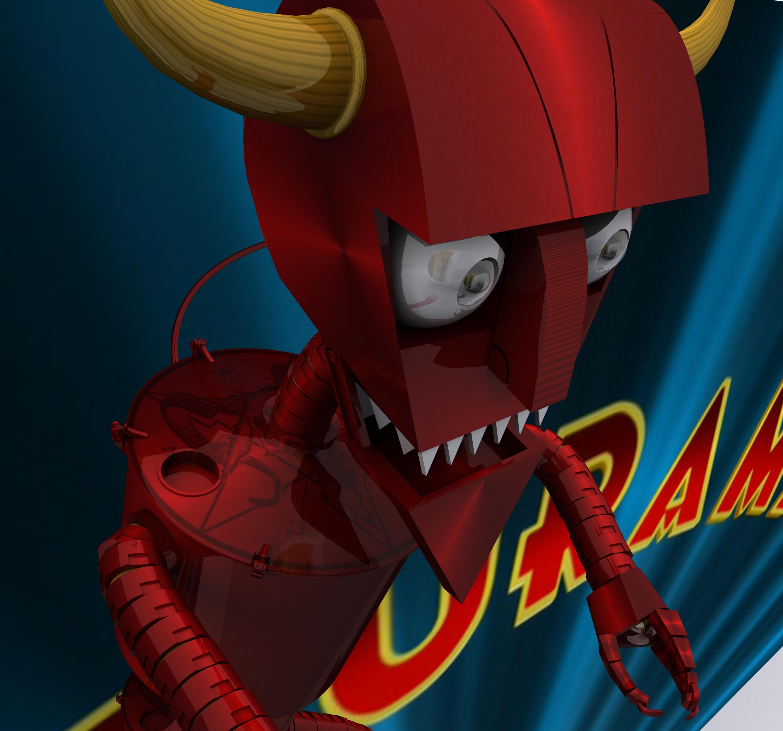 Robot Devil Futurama by roninrap on deviantART