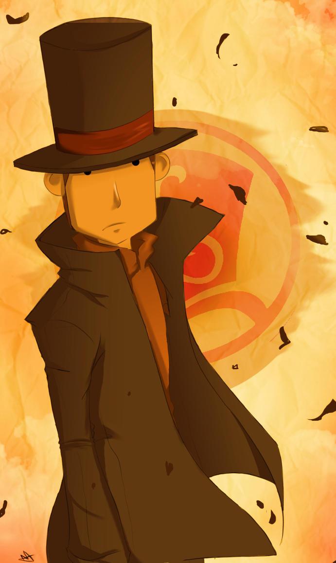 Professor Layton by megamooni