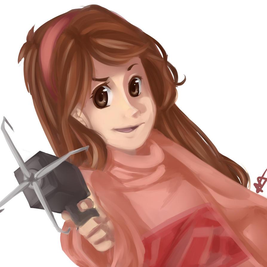 Mabel Speedpaint by megamooni