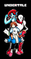 Undertale by sunglasses-mage