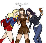 Supergirl vs Xena vs Jessica Jones