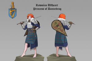 RPG profile, Princess of Dannebrog by ares12