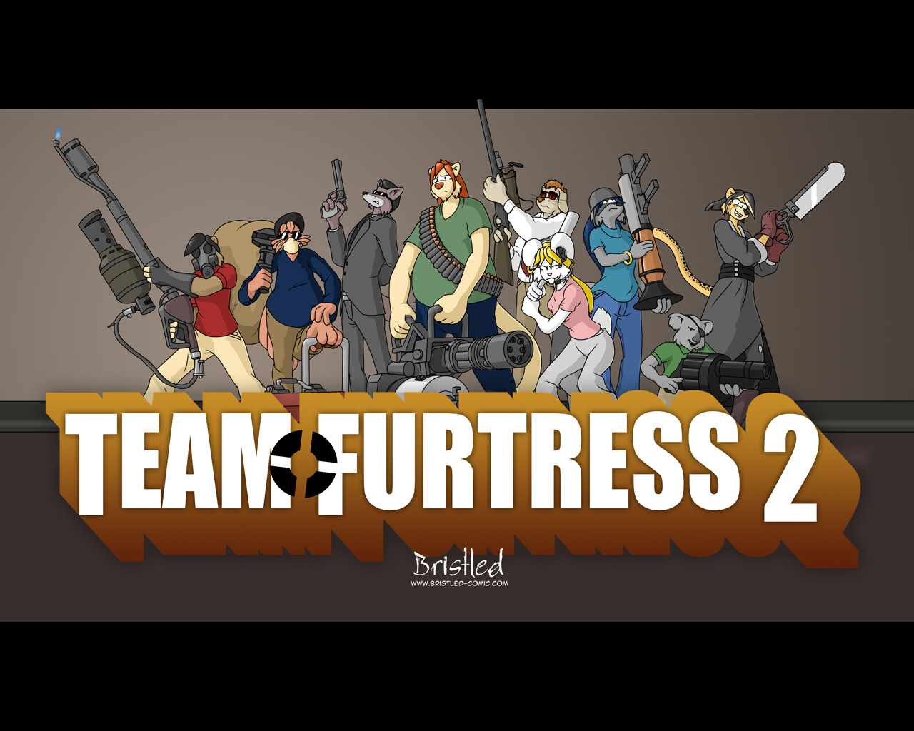 Team Furtress 2 - Final by AzraelleWormser