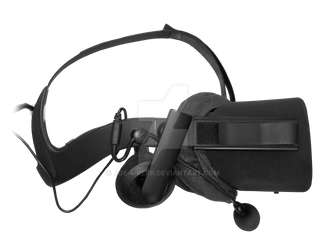 Oculus Rift + Modmic + VrCover stock photo PNG