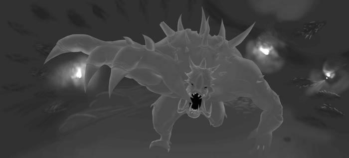 Evolve Goliath (B/W unfinished)