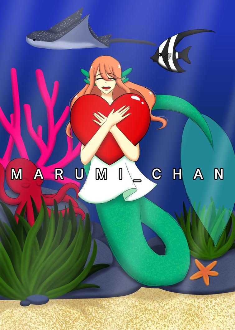 Joyful Mermaid by LuckyAngelsLove