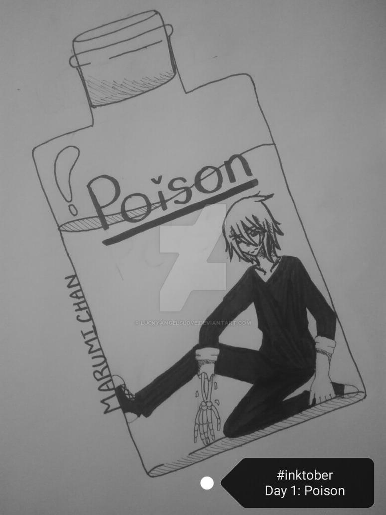Inktober Day 1: Poisonous by LuckyAngelsLove
