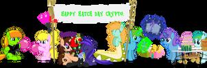 Happy Hatch Day, Crypto!