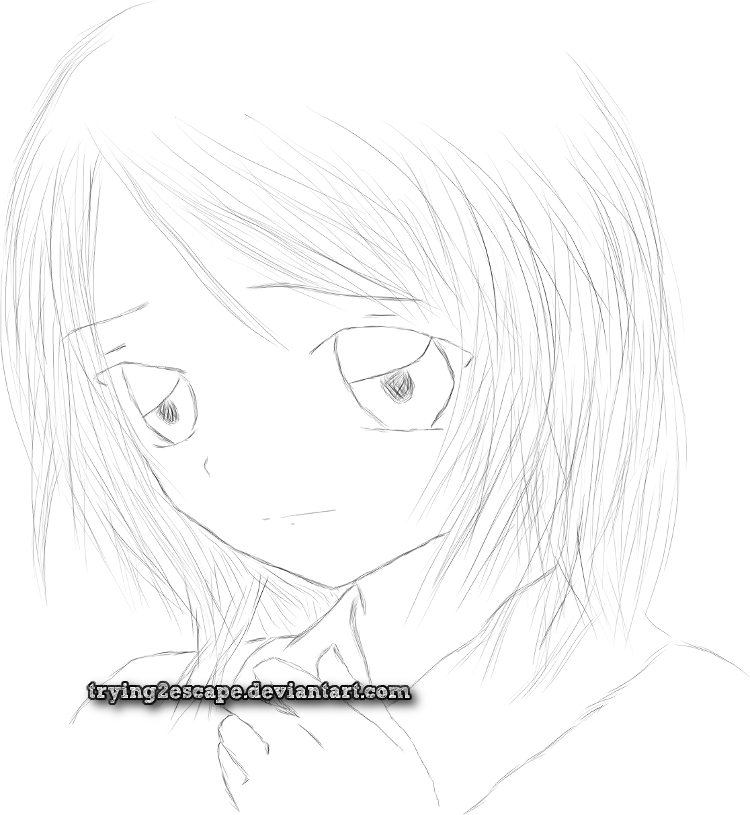 Sayuri: Sad Face by trying2escape