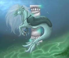 Waving in the water.. by lisazje