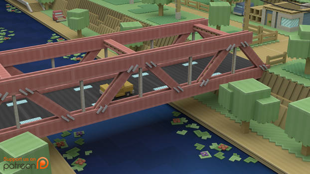 Cut Away Bridge - Concept/Style Test