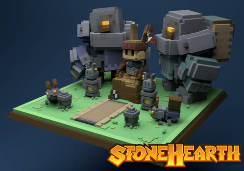 Stonehearth Geomancer Display
