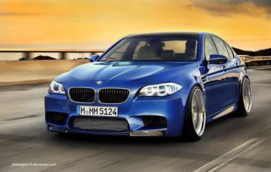 BMW f10 M5 Render by JAdesigns75