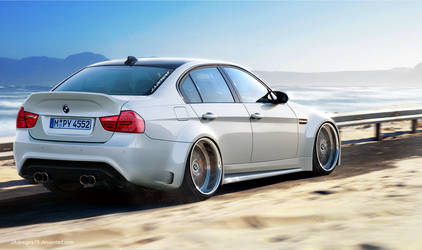 BMW E90 M3 Render 2 by JAdesigns75