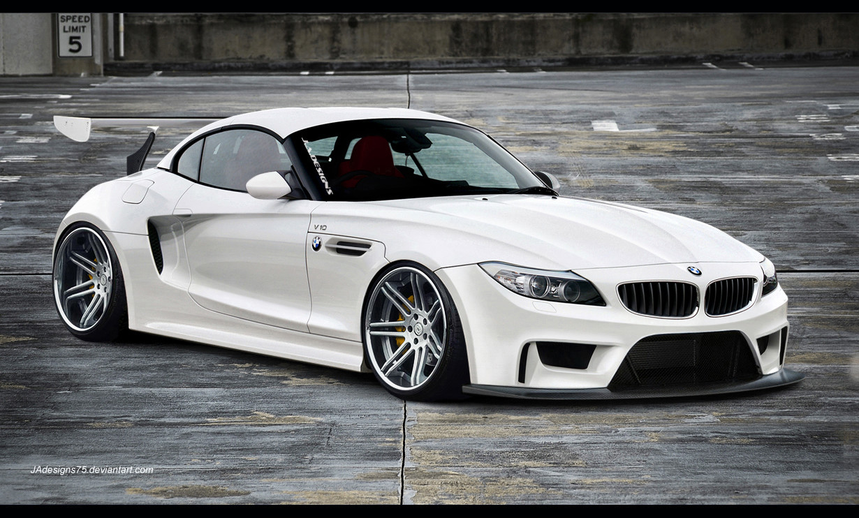 Bmw Z4 Wide Body Render By Jadesigns75 On Deviantart