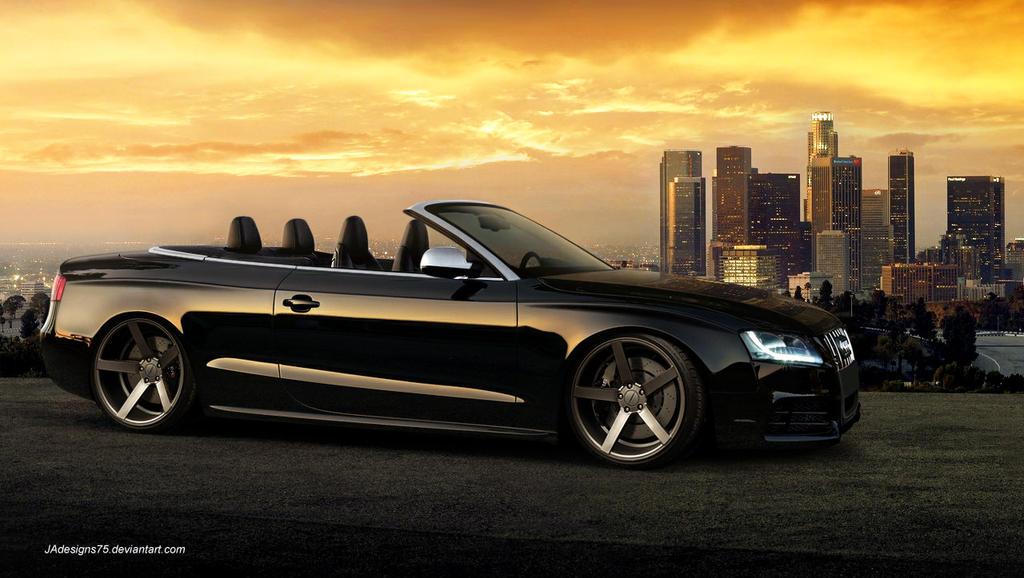 audi rs5 convertible render by jadesigns75 on deviantart. Black Bedroom Furniture Sets. Home Design Ideas
