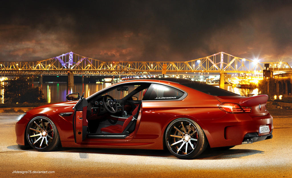 BMW F12 M6 Render. by JAdesigns75