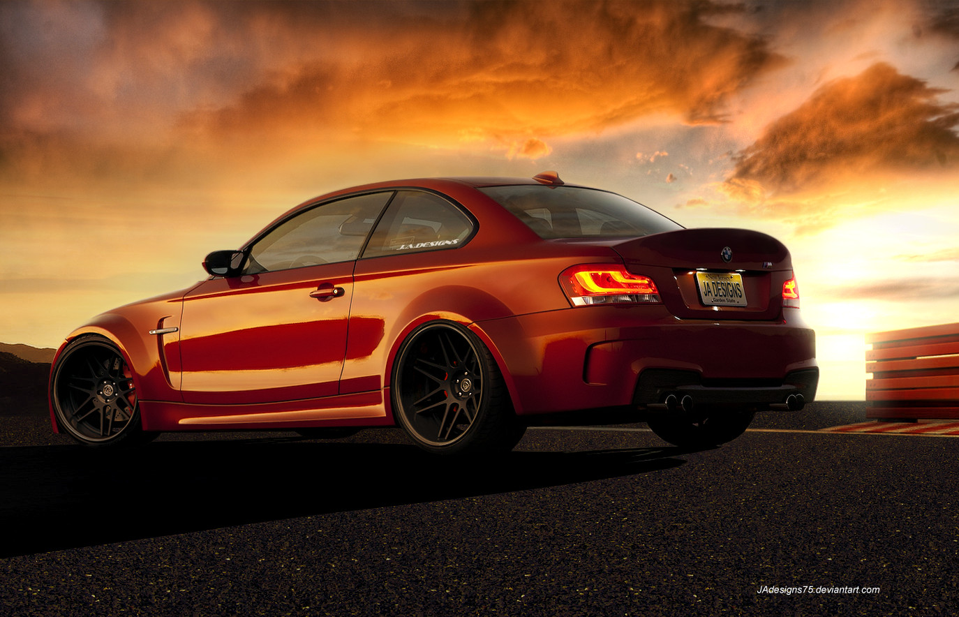 BMW 1M WideBody Render by JAdesigns75